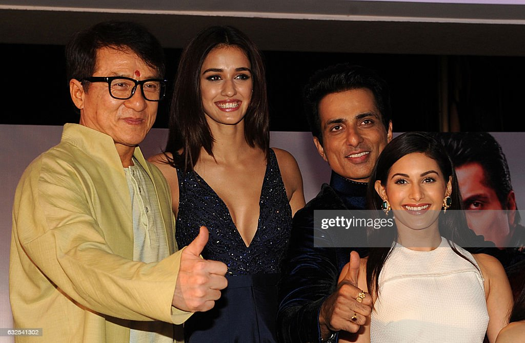 Hong Kong action movie star Jackie Chan , Indian Bollywood ...