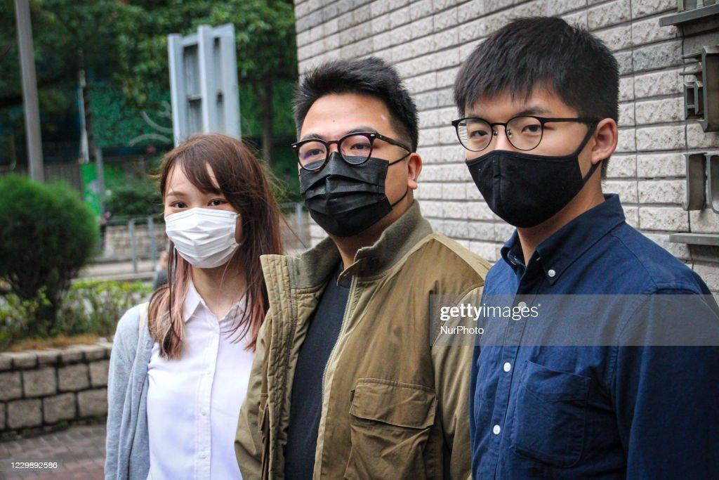 Hong Kong Activists Sentenced : ニュース写真