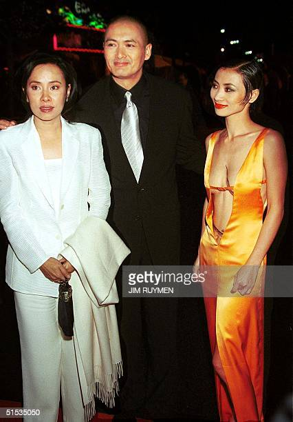 Hong Kong actor Chow YunFat arrives with his wife Jasmine and Chinese actress Bai Ling for the world premiere of their new film Anna and the King 15...