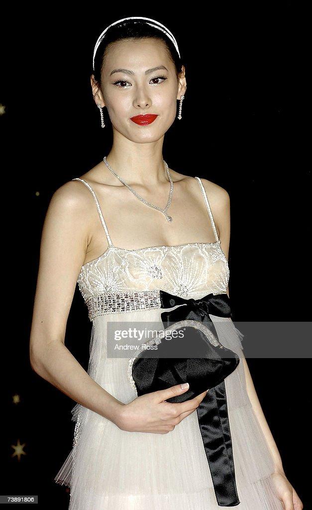 Hong Kong actress Isabella Leong arrives to the 26th Hong Kong Film Awards at the Hong Kong Cultural Centre on April 15, 2007 in Hong Kong, China.