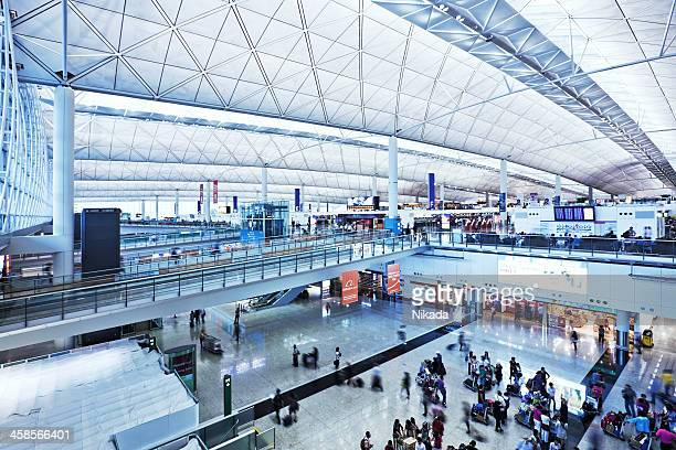 L'aéroport de Hong Kong