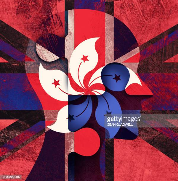 hong kong and uk - referendum stock pictures, royalty-free photos & images