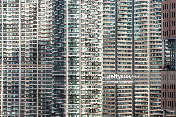 Hong Kong apartment blocks