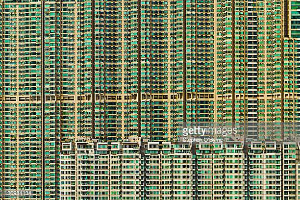 Hong Kong apartment complex
