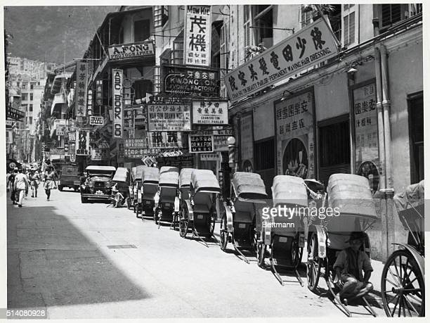 Chinese Street Undated photograph