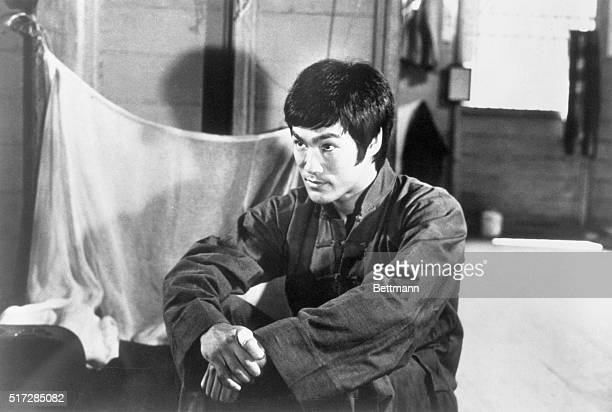 Bruce Lee popular harfisted quick kicking screen hero collapsed and died at his home here Lee was noted for his best sellers He is shown in scenes...