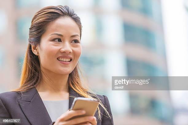 Hong Kong Business Woman Phone