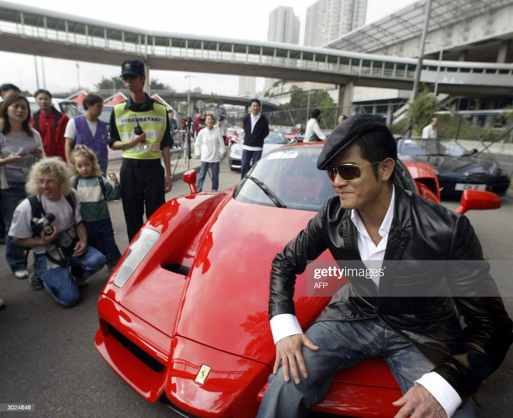 Hong Kong Cantopop Singer Aaron Kwok R Pictures Getty Images
