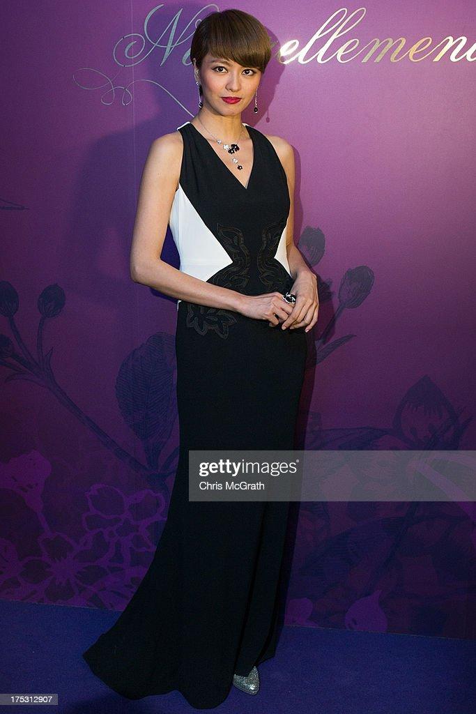 Gigi Leung Attends Cartier Naturellement Exhibition In Singapore