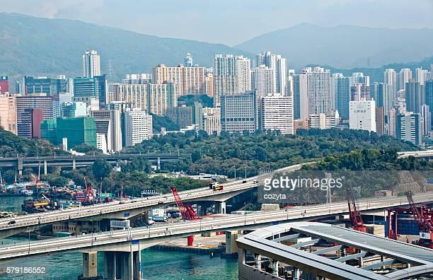 Hong Kong cargo port