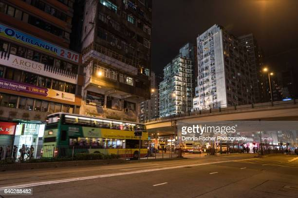 Hong Kong Causeway Bay at night
