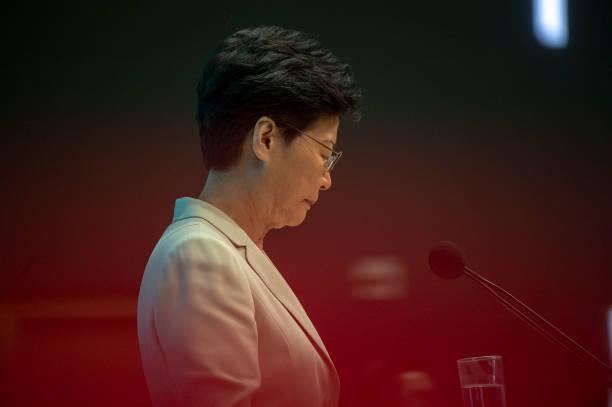 HKG: Hong Kong Chief Executive Press Conference