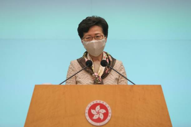 CHN: Hong Kong Chief Executive Carrie Lam Holds Press Conference