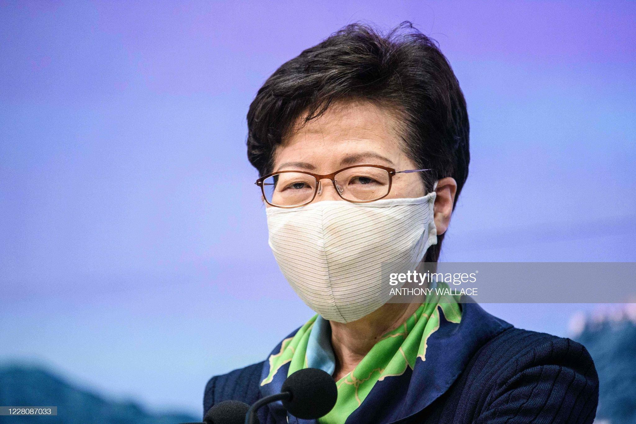 HONG KONG-CHINA-POLITICS : ニュース写真