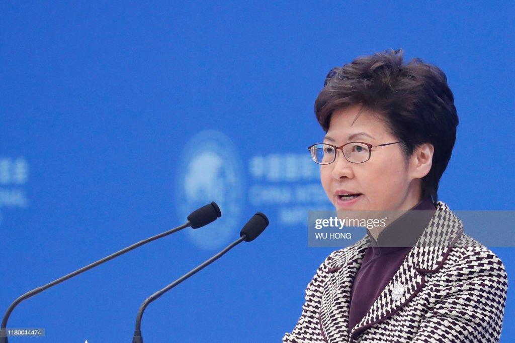 CHINA-HONG KONG-CIIE : News Photo