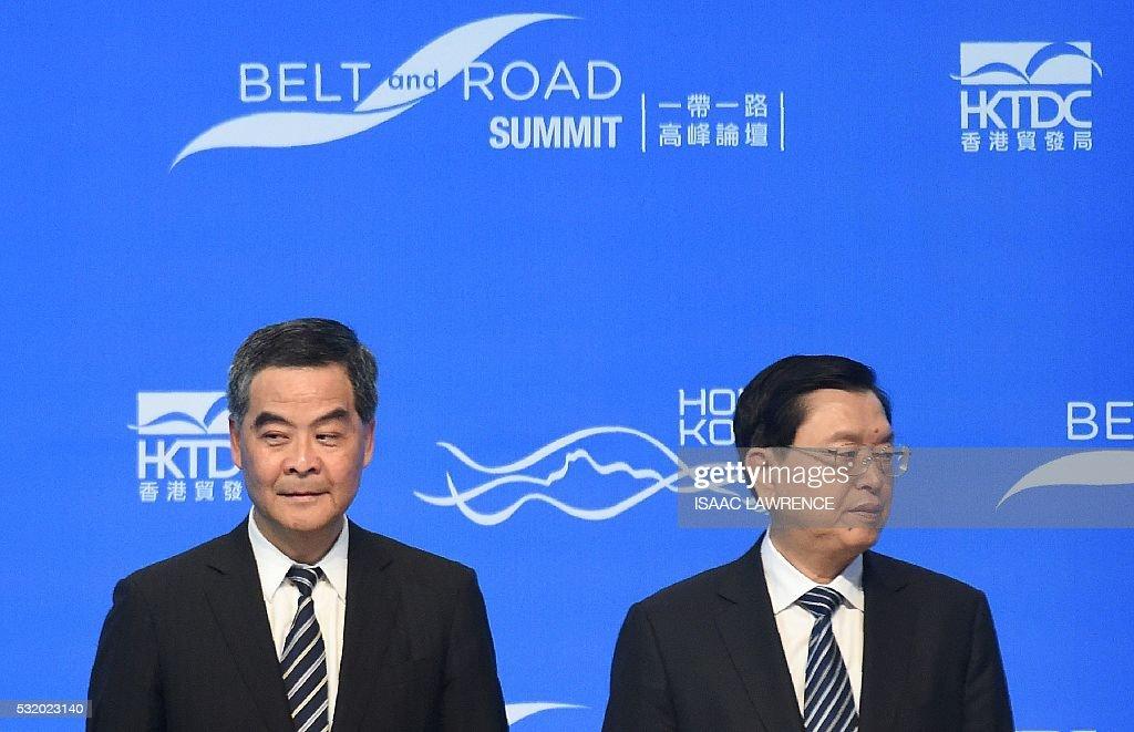 HONG KONG-CHINA-POLITICS-DEMOCRACY : News Photo