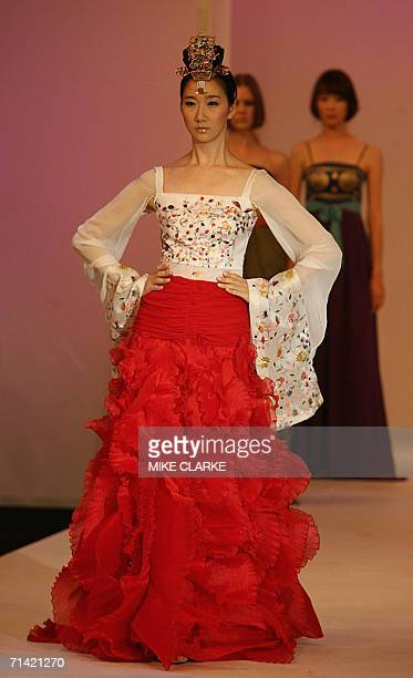 Designs are presented by An Yoon Jung part of a selection of South Korean designers entitled Supreme Corea Artist Fashion Show at fashion week in...