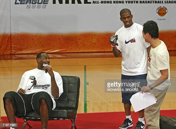 One of the star players for the USA team headed to the World Basketball Championships in Japan later this month swingman LeBron James of the...