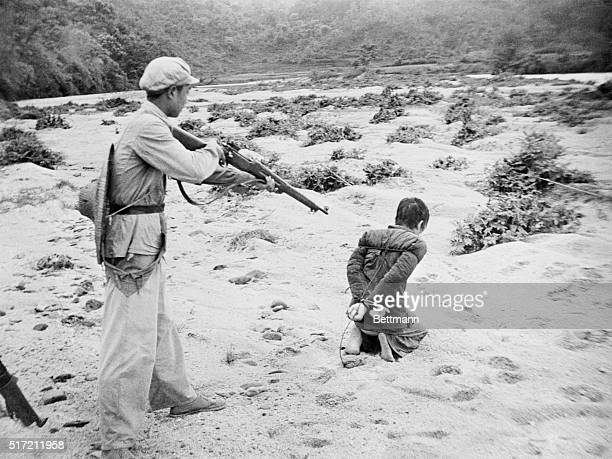 This Is Communist China's Agrarian Reform Made by a Chinese photographer who fled Red China to Hong Kong these two photographs tragically illustrate...