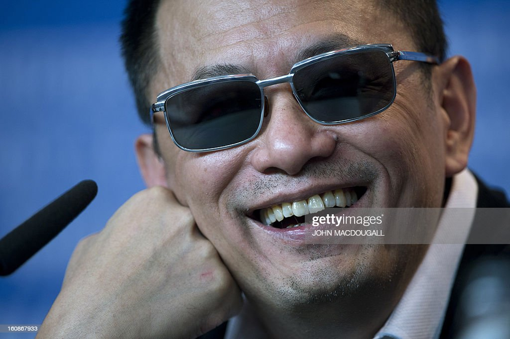 Hong Kong Chinese director Wong Kar-Wai, jury president of the 63rd Berlinale film festival, attends a press conference in Berlin February 7, 2013. The 63rd Berlinale, the first major European film festival of the year, starts on February 7, 2013 with 24 productions screening in the main showcase.