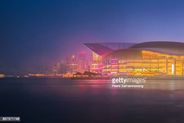 Hong Kong city with Convention center