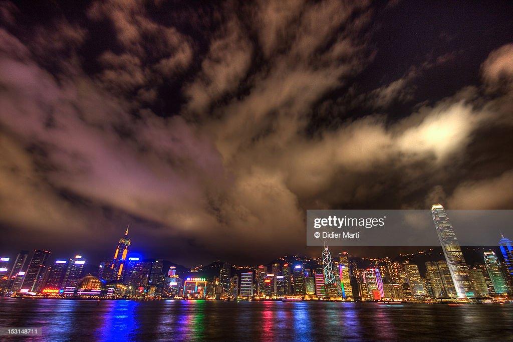 Hong Kong cityscape : Stock Photo