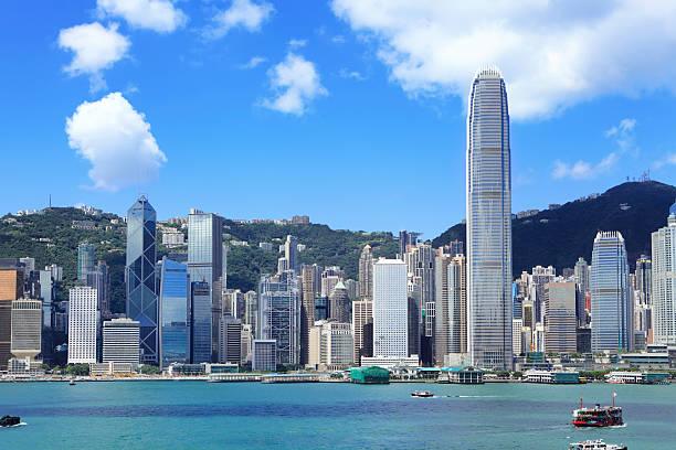 Hong Kong Cityscape Wall Art