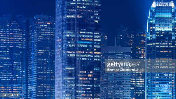 Hong Kong cityscape view from Kowloon side, Hong Kong