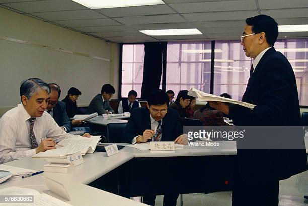 Civil servants learn Mandarin to prepare for takeover by China