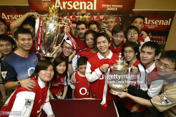 Hong Kong fans get their hands on both the Premier League trophy and the FA Cup something most English professionals only dream of The two pieces of...