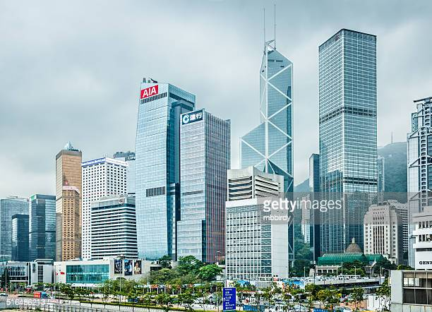 Hong Kong financial district, Victoria Harbour, Hong Kong Island