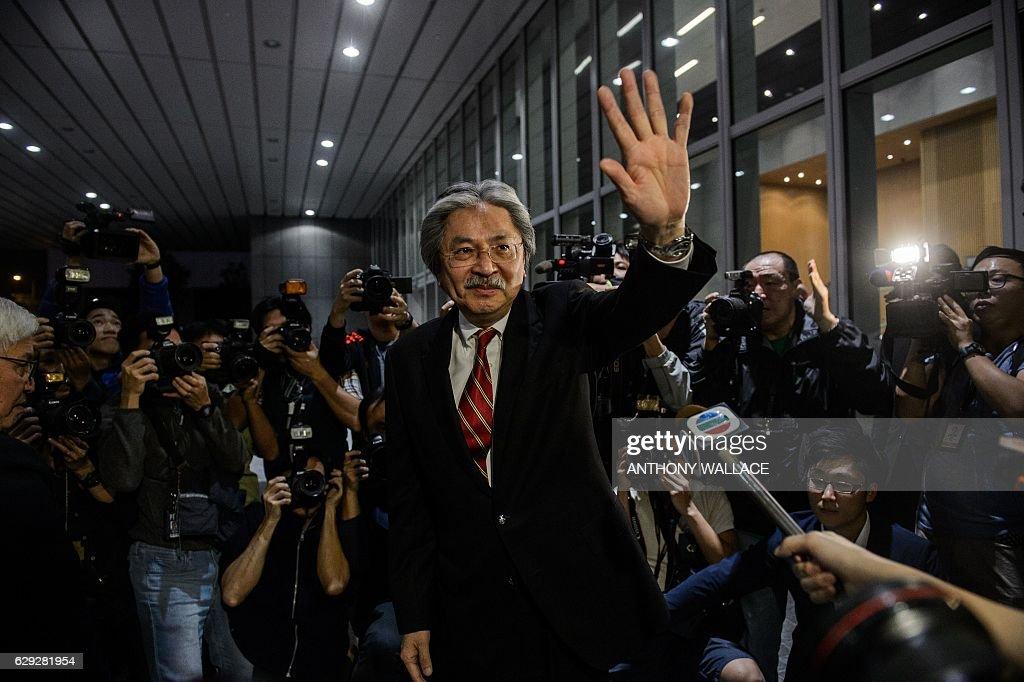 HONG KONG-POLITICS-DEMOCRACY : Nachrichtenfoto