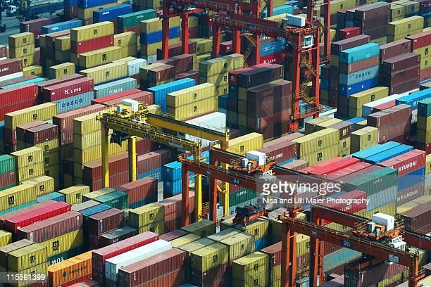 Hong Kong freight harbour