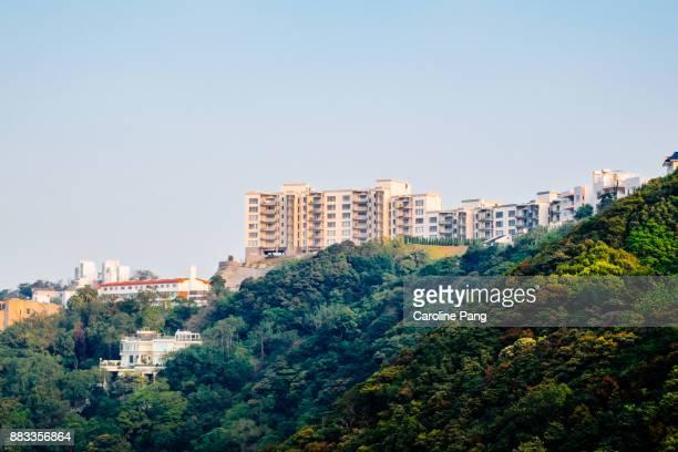 Hong Kong high end residential properties.