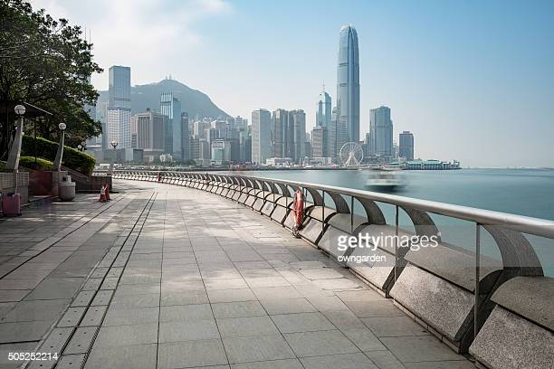 hong kong in daytime - victoria harbour hong kong stock pictures, royalty-free photos & images