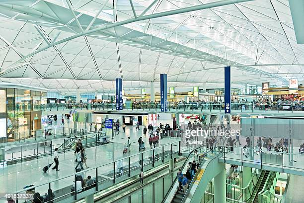 Internationaler Flughafen Hong Kong, China Asien