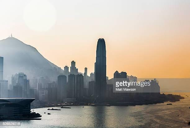 Hong Kong Island Cityscape