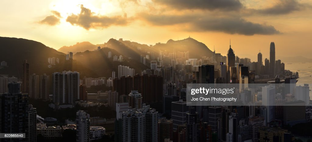 Hong Kong Island, Hong Kong : Stock Photo