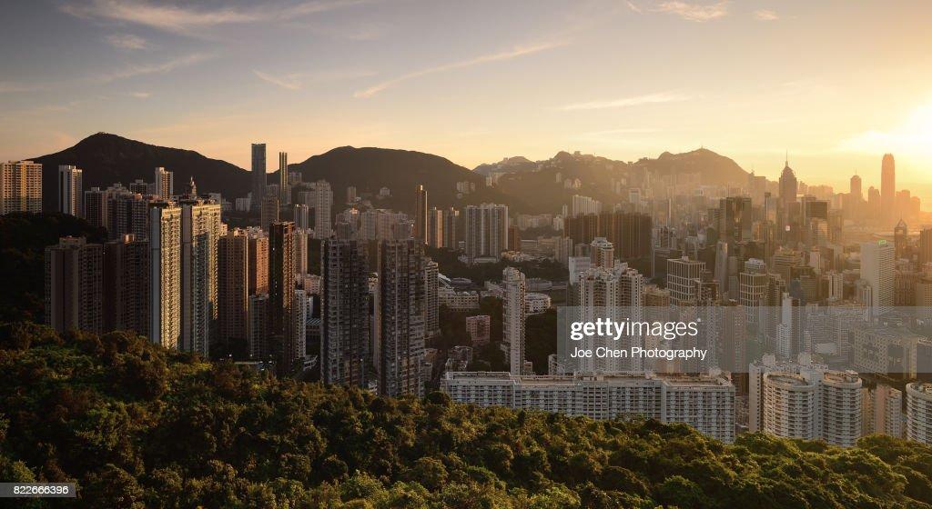 Hong Kong Island, Hong Kong : Stock Photo