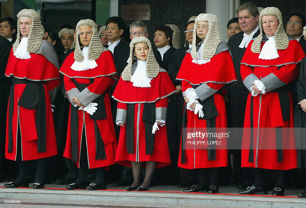 Hong Kong judges in robes and horsehair Pictures | Getty Images