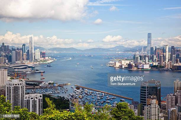 Hong Kong, Kowloon and Victoria Harbour