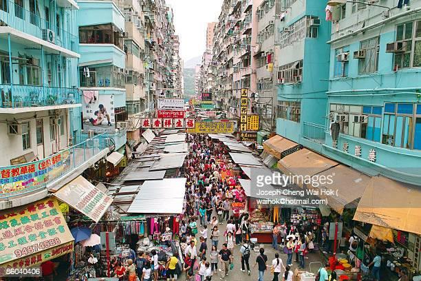 Hong Kong Kowloon  Mong Kok Fa Yuen Street