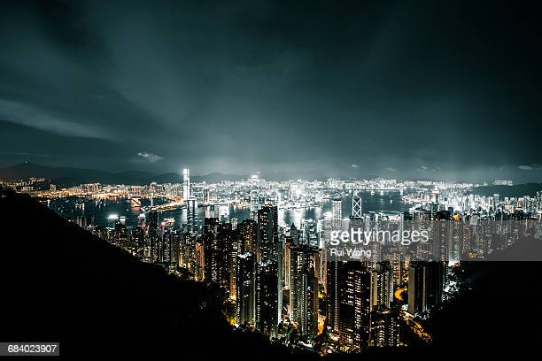 Hong Kong magic night