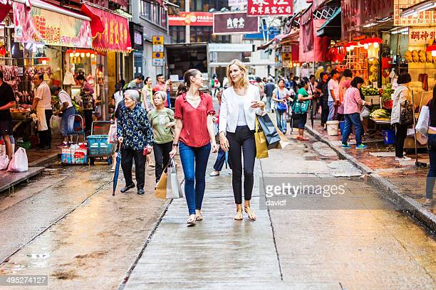 Hong Kong Market Shopping Women
