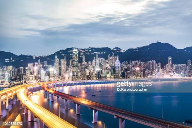 Hong Kong , night