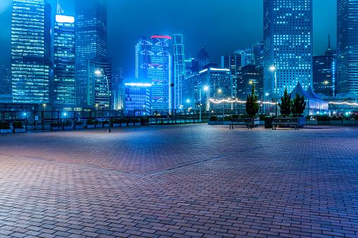 hong kong night scene 612630478