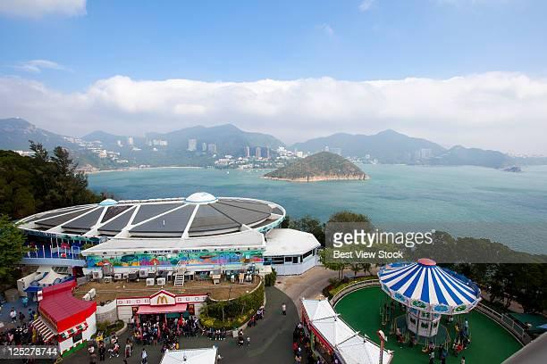 hong kong ocean park - hong kong stock pictures, royalty-free photos & images