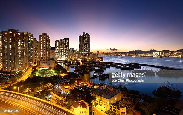 hong kong - east stock pictures, royalty-free photos & images