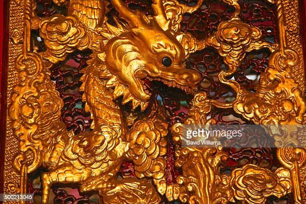 hong kong - man motempel stockfoto's en -beelden