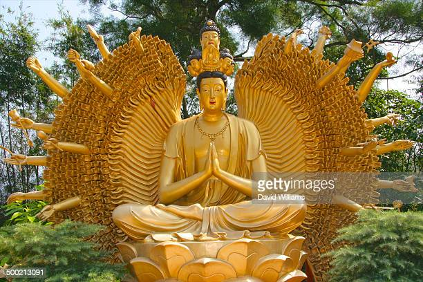 hong kong - bodhisattva stock pictures, royalty-free photos & images